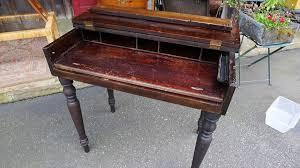 Antique Slant Top Desk Worth Antique Flip Top Desk Antique Furniture
