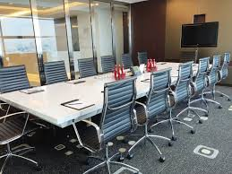 Quill Conference Table Ceo Suite Axiata Tower Kuala Lumpur Serviced Offices Mondestay