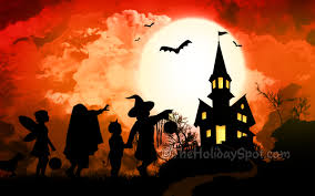 cute halloween wallpaper give scary treat