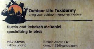 outdoor life taxidermy