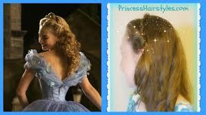 Disney Princess Hairstyles Disney U0027s Cinderella Hair Tutorial Ball Hairstyle 2015 Youtube