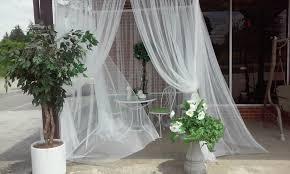 Pvc Pipe Pergola by Garden Pergola Gazebo Free Shipping White Curtain Canopy