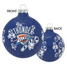 oklahoma city thunder ornament