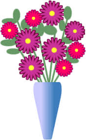 Pictures Of Vases With Flowers Clipart Flower Vase Cliparts For You