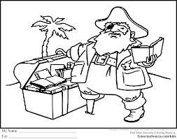 pirate coloring page fleasondogs org