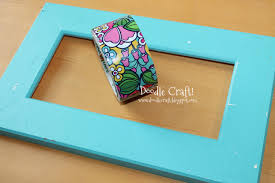 doodlecraft duct tape picture frame