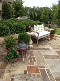 Pictures Of Patio Gardens Easy Diy Patio Ideas Boxwood Hedge Stone Patios And Hydrangea