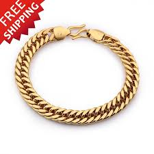 jewelry man gold bracelet images Gold filled snake bracelets bangles men jewelry indian bangle jpg