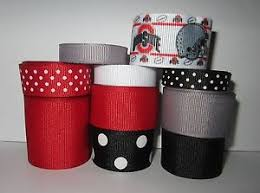 ohio state ribbon grosgrain ohio state ribbon lot for bows 10 yds ebay