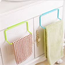 kitchen cabinet towel rack 1pc new towel rack hanging holder organizer bathroom kitchen cabinet