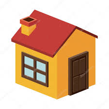 Home Design Stock Images by Isometric House With Chimney Design U2014 Stock Vector Grgroupstock