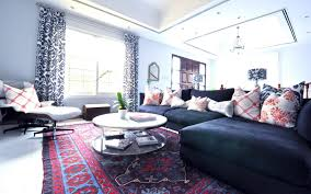 Caitlin Wilson Decorating With Persian Rugs - Oriental sofa designs