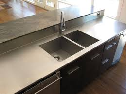 stainless steel countertop with built in sink c2 design home furnishings stainless steel countertop with