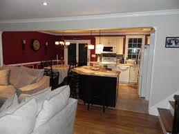 open floor plan kitchen ideas excellent open kitchen dining living room floor plans photos