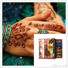 golecha henna colour paste tattoo inks cream body art tattoo gel