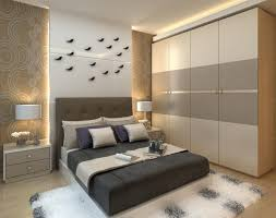 wooden wardrobe designs for bedroom headboard with storage and