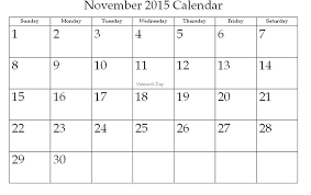 blank calendar pages 2015 november calendar 2015 pinterest