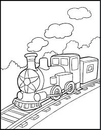 coloring page train car free printable train coloring pages for kids the train color page