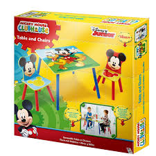 mickey mouse kids table disney mickey mouse table and chair set best home chair decoration