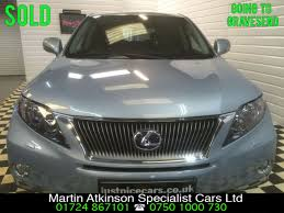 lexus suv for sale uk second hand lexus rx 450h 3 5 v6 se i 5dr cvt hybrid auto for sale