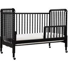 Oak Convertible Crib by Davinci Jenny Lind 3 In 1 Convertible Crib Ebony Black Walmart Com