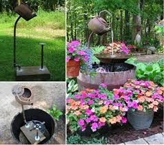 Garden Water Fountains Ideas Charming Diy Design Outdoor Fountains Ideas 17 Best Ideas About
