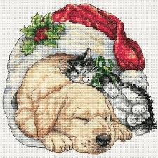 dimensions counted cross stitch kit morning