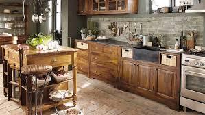 ilot cuisine bois ilot central cuisine bois brut mzaol com