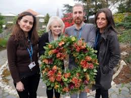 floristry students win award at new covent garden flower market