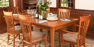 Solid Wood Dining Room Sets Other Fresh Shaker Dining Room With Regard To Other Cherry Table
