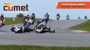road bike leathers comet motorcycle leathers crash test apex youtube