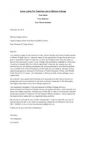 teaching cover letter example of sample lettersfor teaching for