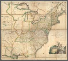 A Map Of The United States Of America by File A Map Of The United States And British Provinces Of Upper And