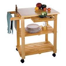 28 wood kitchen island cart natural wood top portable