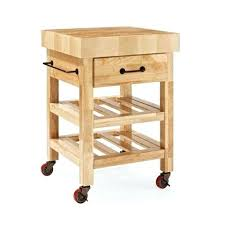powell color black butcher block kitchen island powell 30 square color butcher block slatted shelf basket
