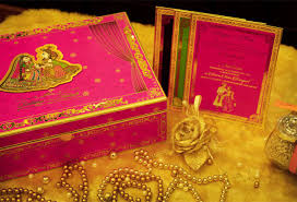 Indian Wedding Card Box Indian Wedding Invites With Royal Creative Art U0026 Craft Broowaha