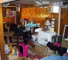 painting paneling in basement laurie s basement better after