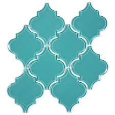 Home Decor Wholesalers Usa Glass Arabesque Tile Teal Arabesque Wall Dividers And Tile Wood