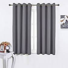 pictures of curtains amazon com nicetown bedroom blackout curtains panels window