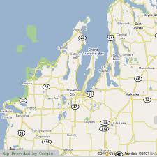 map of michigan lakes northern michigan lakes map michigan map