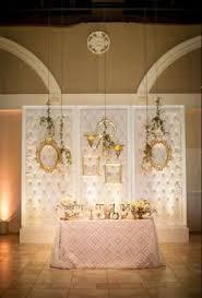 Wedding Backdrop Lattice Modern Aqua U0026 White Miami Beach Wedding Sweetheart Table Modern