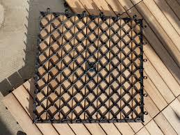Teak Floor Tiles Outdoors by Teak Deck Tiles Crafts Home