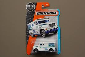 matchbox chevy van matchbox 2016 mbx adventure city international armoured car white