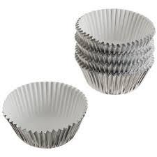 wilton mini cupcake liners silver foil 80 ct walmart