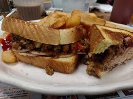 thanksgiving dinner sandwich picture of s sandwich shop