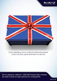 Uk Flag Ai El Al Outdoor Advert By Mccann The London Present Ads Of The World
