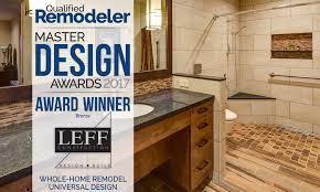 leff wins 2017 master design award for universal design project