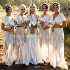 Hippie Wedding Dresses Discount Short White Hippie Wedding Dress 2017 Short White