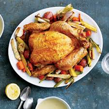 Roast Vegetables Recipe by Roast Chicken With Vegetables Recipe Myrecipes