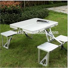 Folding Chair With Table Portable Folding Table And Chair Set Portable Folding Table And